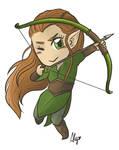 Tauriel the archer