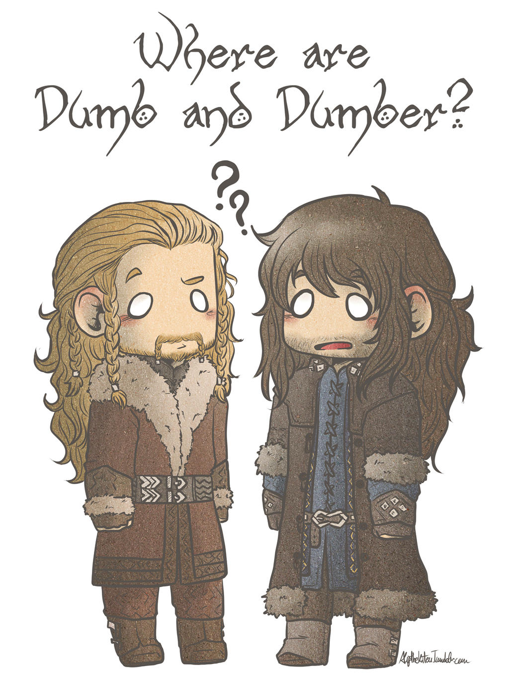 Where are Dumb and Dumber? by AlyTheKitten