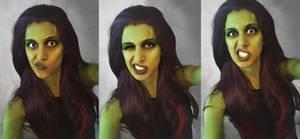 Gamora, stupid selfies by AlyTheKitten
