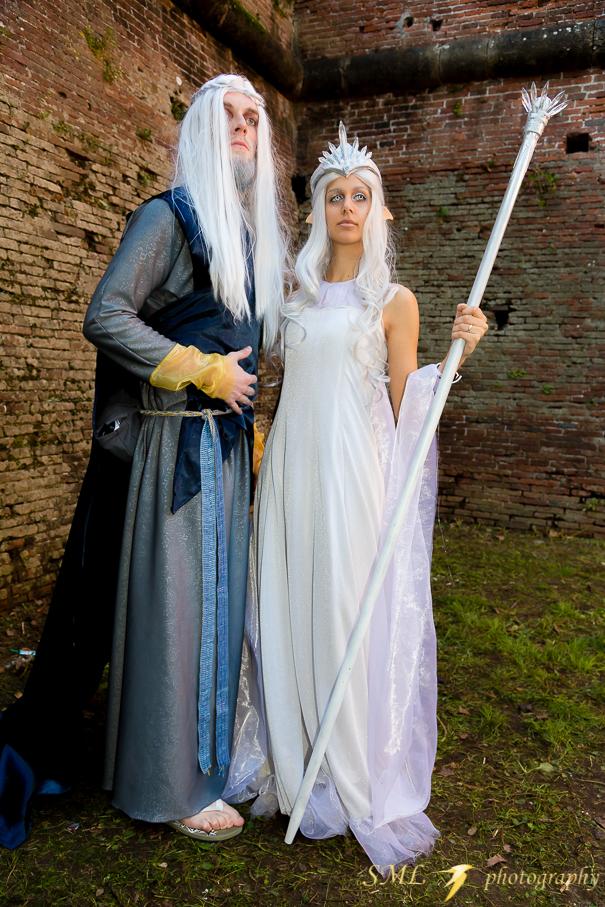 Varda and Manwe by AlyTheKitten
