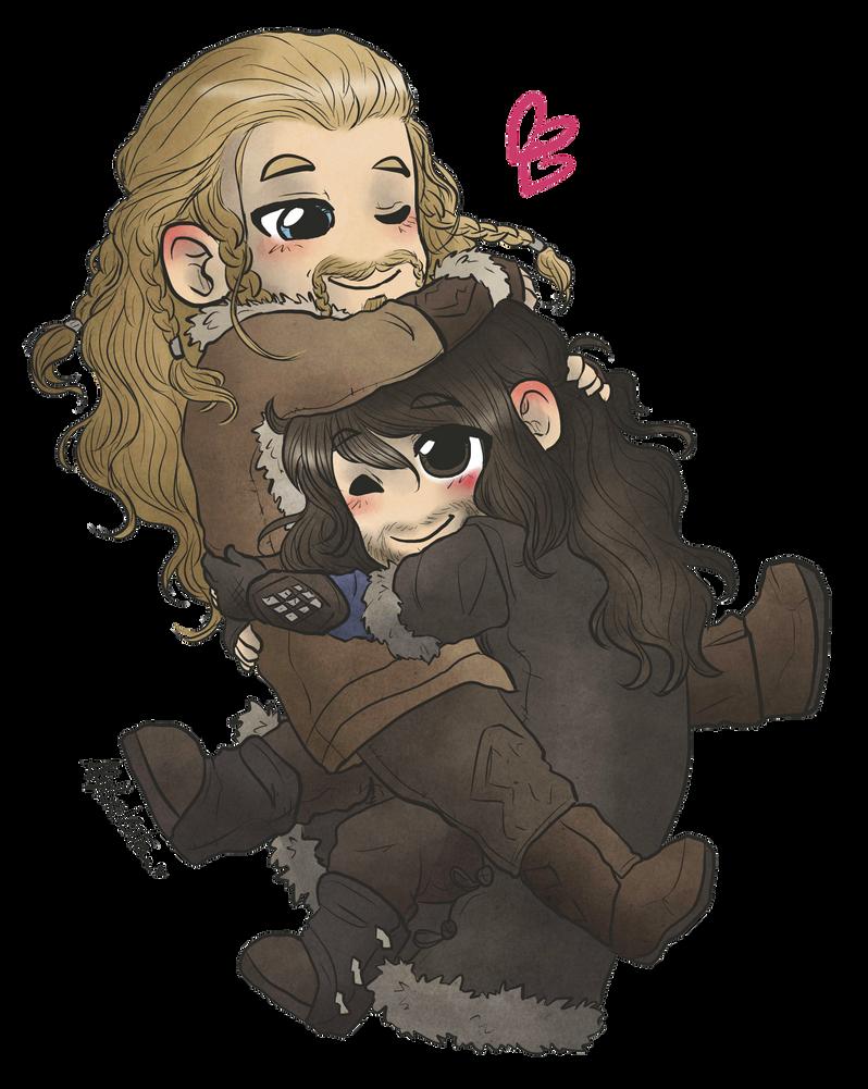Cuddly Durins by AlyTheKitten