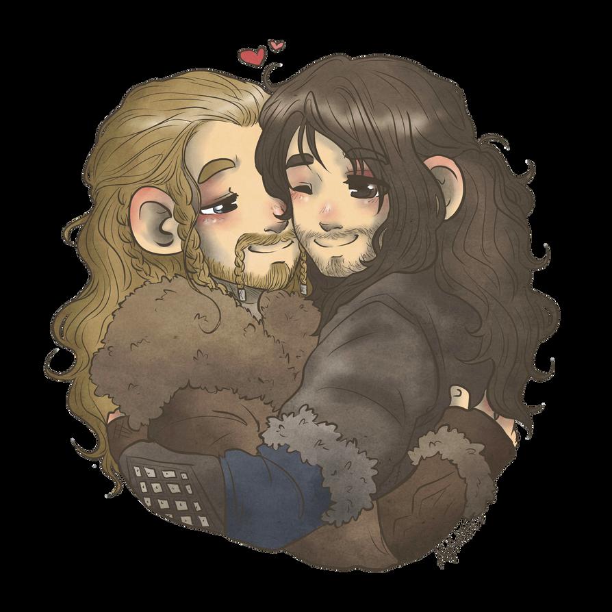 Hugging by AlyTheKitten