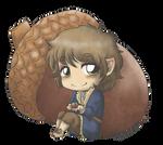 Bilbo and the Acorn