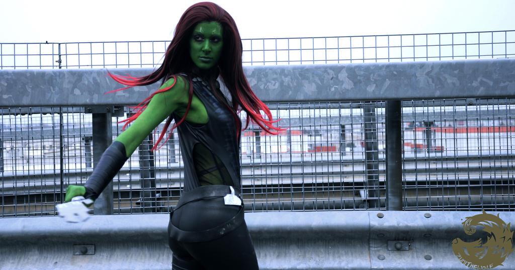 Gamora by AlyTheKitten