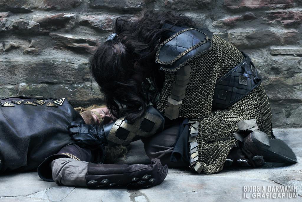 Fili's death by AlyTheKitten