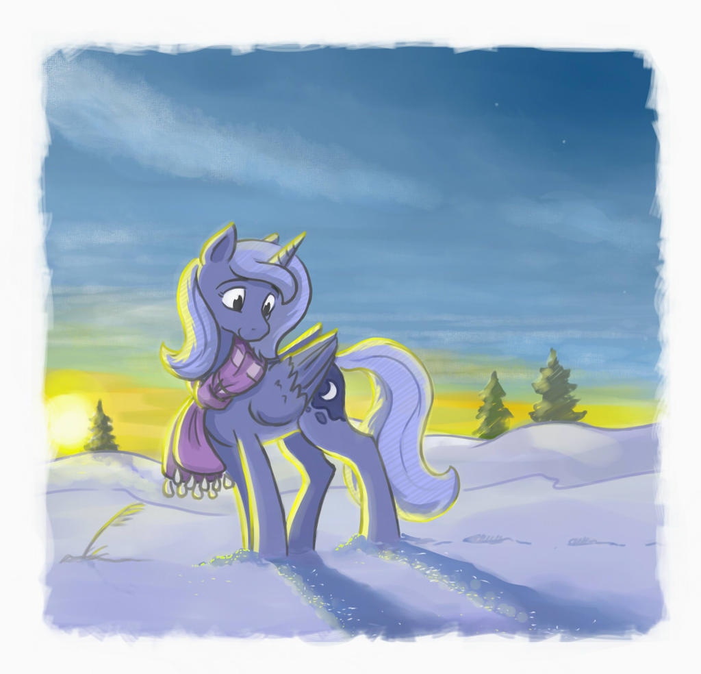 snow and stars by onkelscrut
