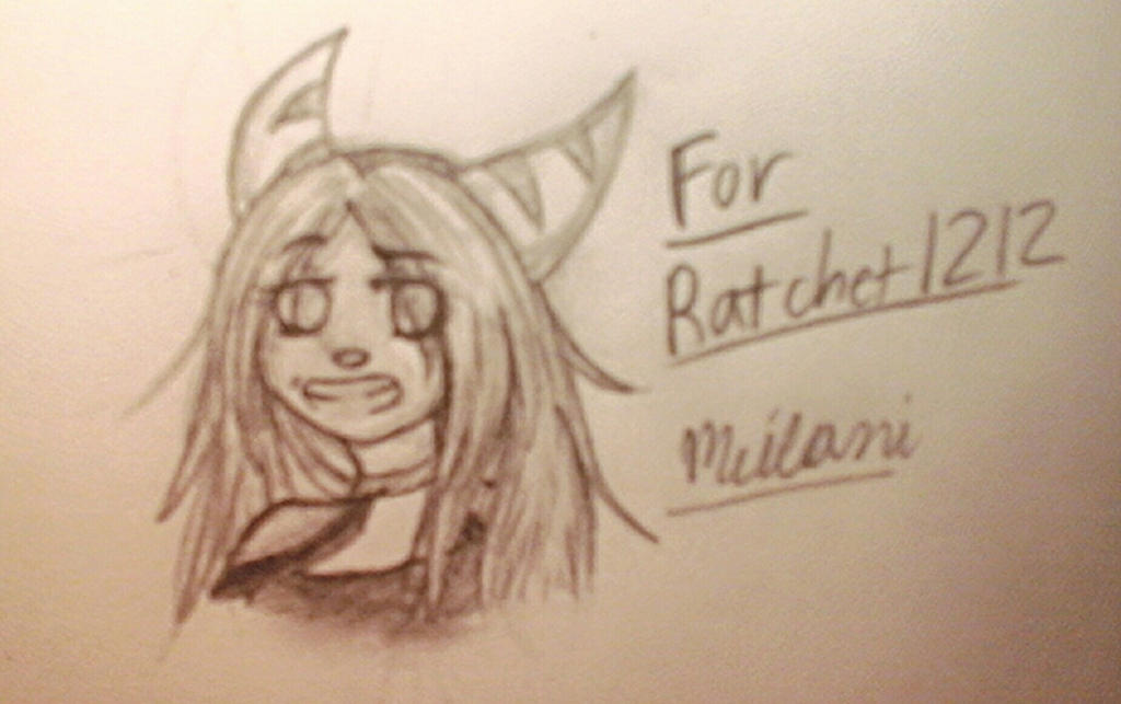 Doodle for Ratchetfan1212 by o0Major-Meilani0o