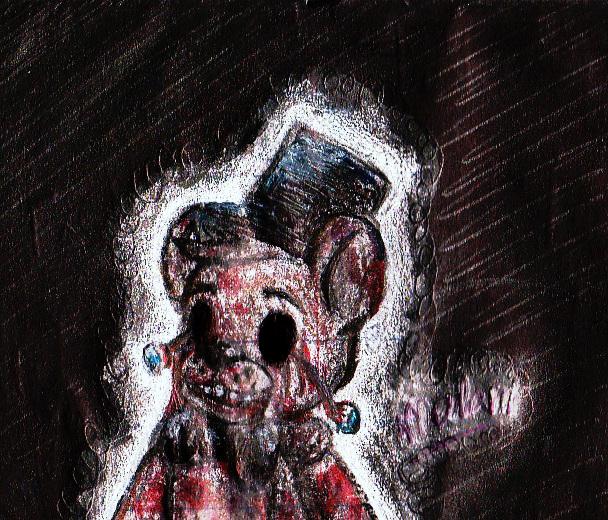 (No) Eyes Freddy Fazbear by o0Major-Meilani0o
