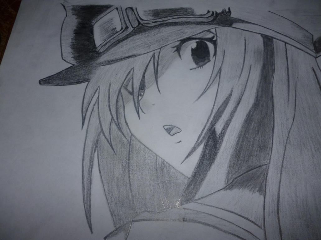 Anime Girl Simca Drawing by V7-Designs on DeviantArt