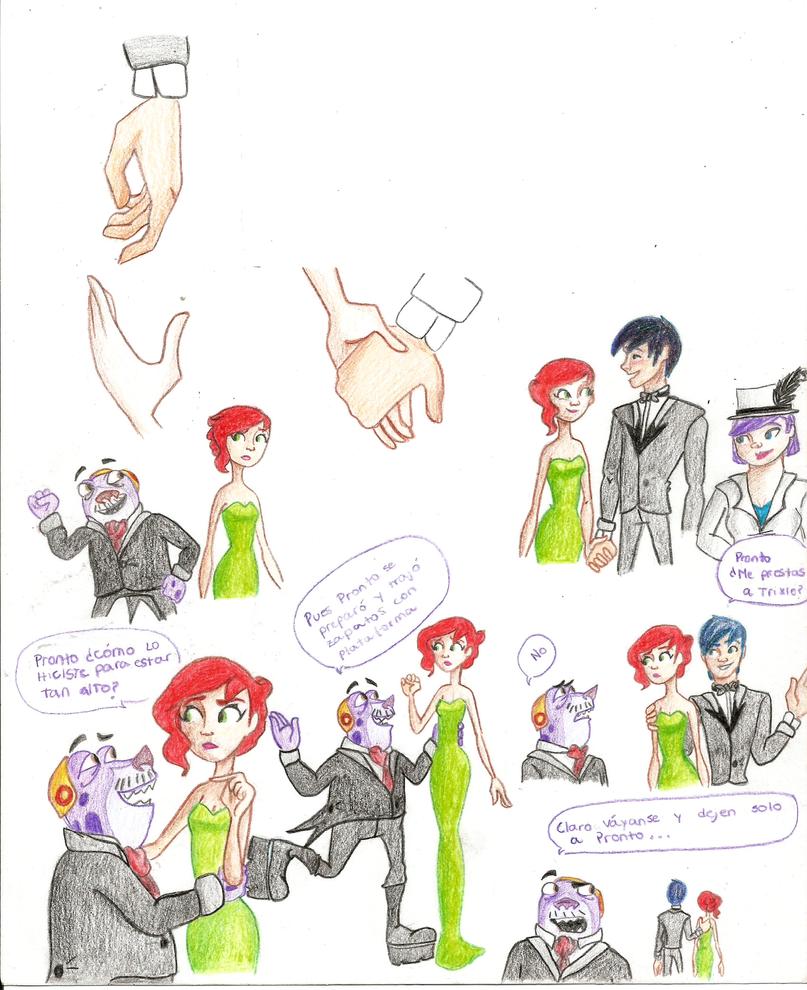 Sketchs de baile de babosas 2 by FlooAbbadie