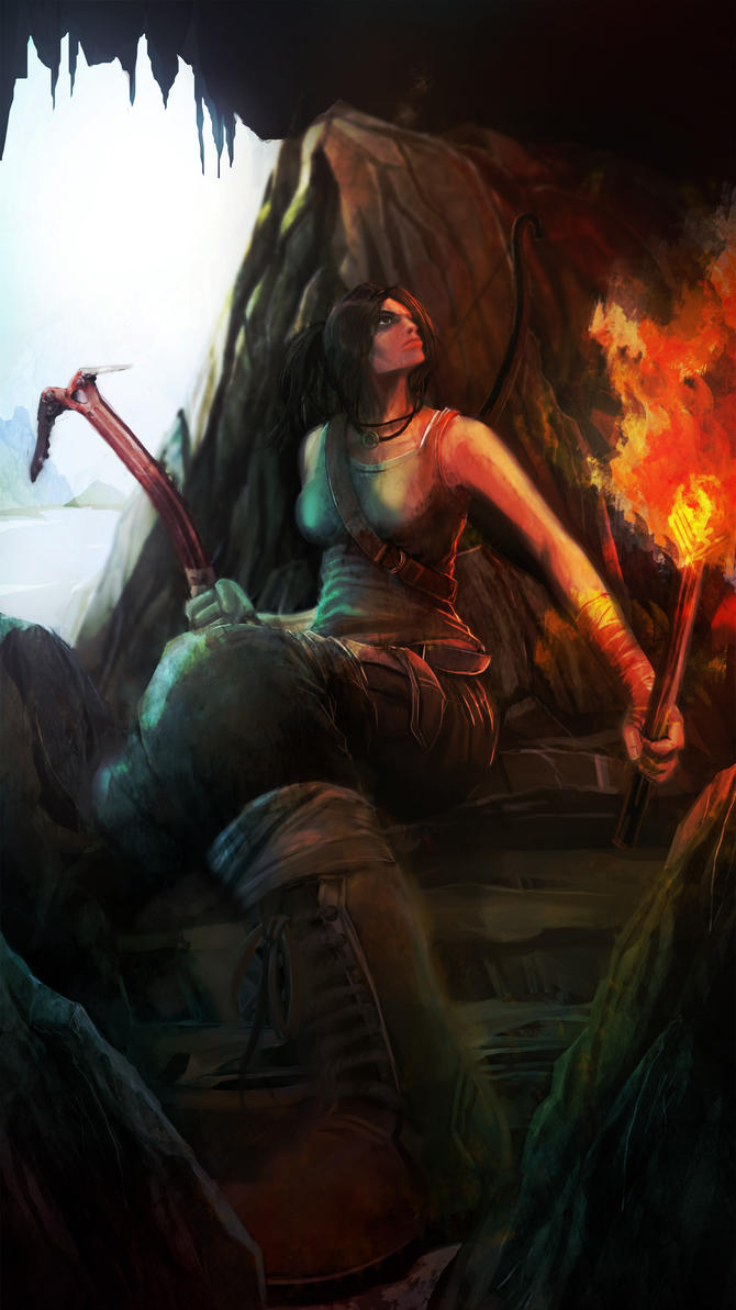 Tomb Raider Reborn by agamarlon