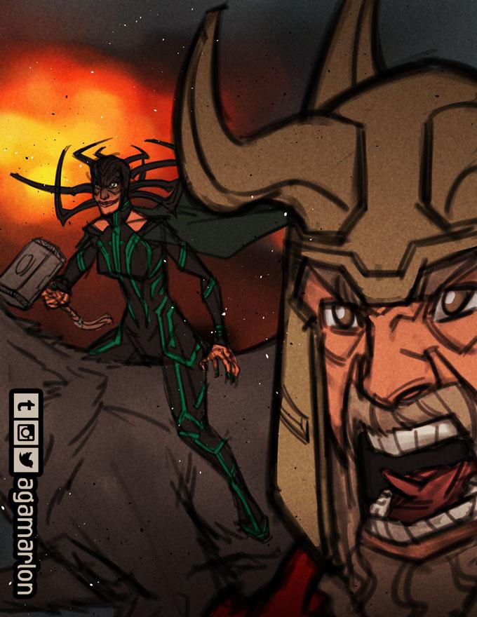 War and Death by agamarlon