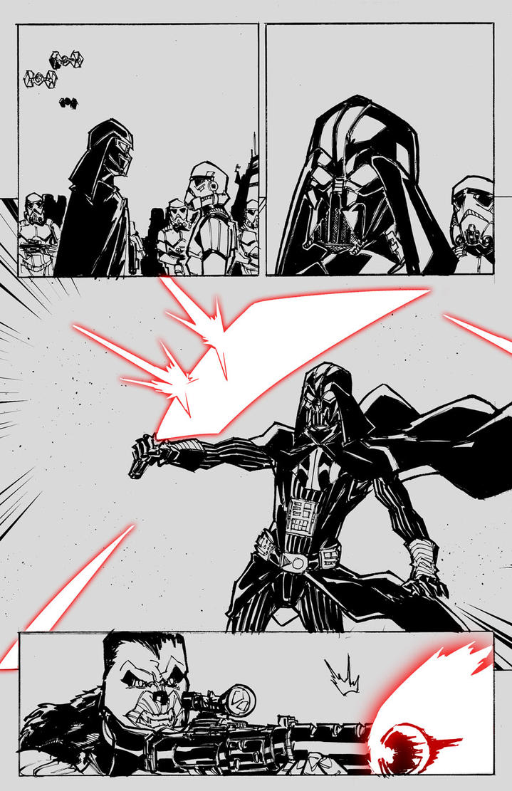 Marvel's Star Wars - Page 21 by agamarlon