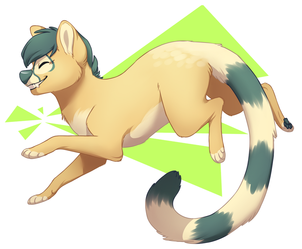 what are these green triangles by yeener