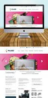 Flixio 2 Home Page Design