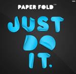 Paper Fold - Custom Font