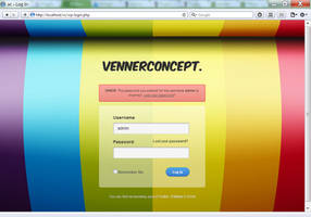 Pathway WP - RainBow Login by vennerconcept