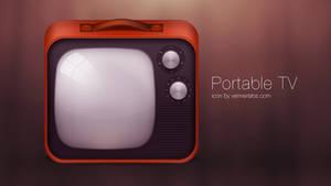 Portable TV icon