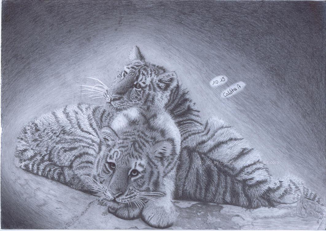 tiger pleasure by Calitha-Lena
