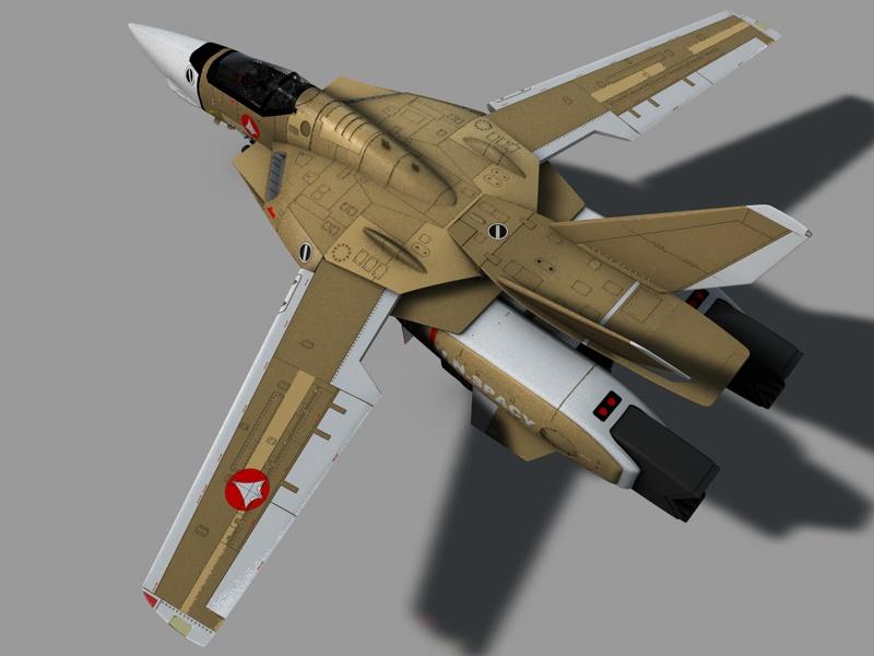 Macross VF-1 Cannon fodder by Rodavan