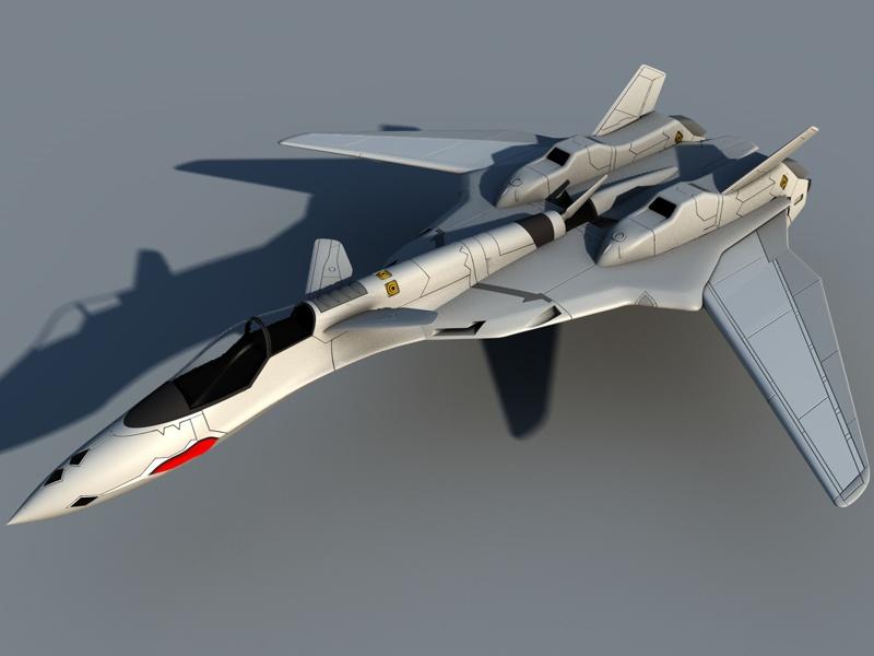 Macross VF-19 Progress Render by Rodavan