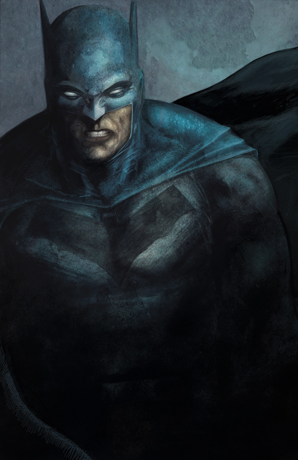 Batman painting rgb small by DRedhead