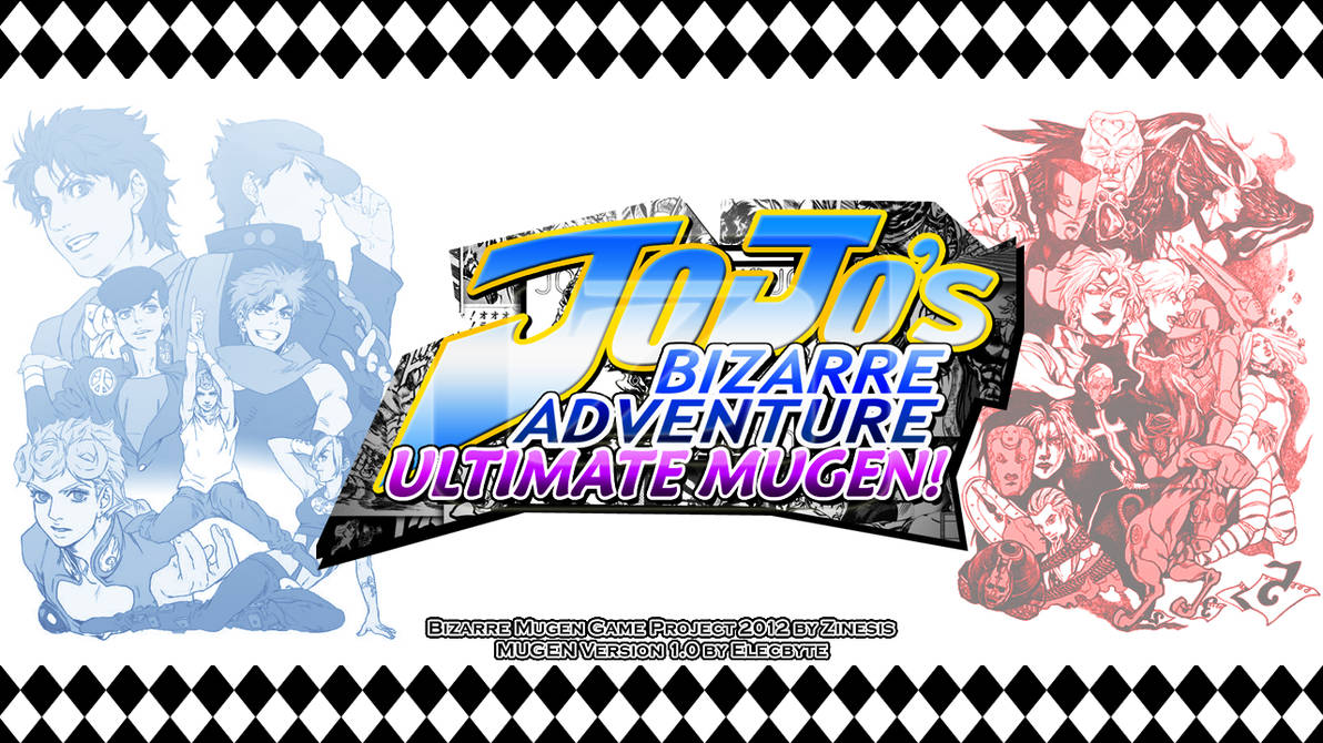 Jojo's Bizarre Adventure Ultimate Mugen! by Zinesis on
