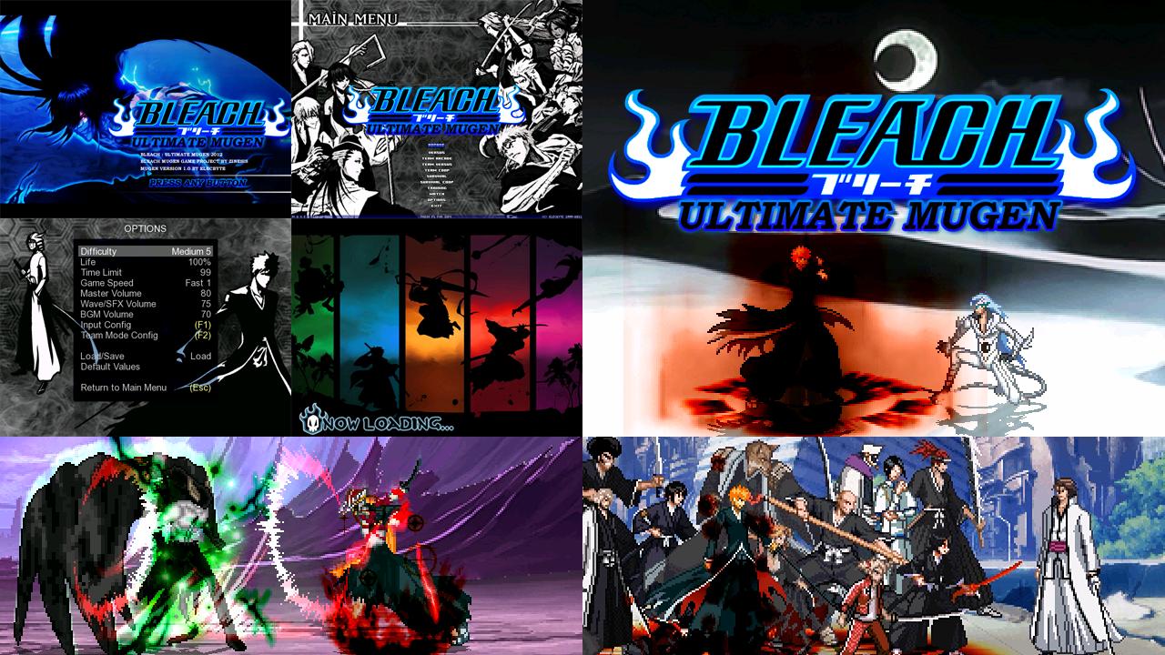 Bleach ultimate mugen [ full games ] mugen free for all.