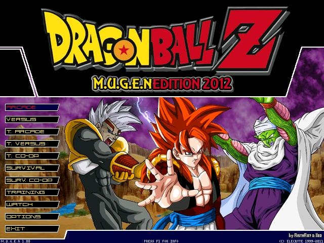 Dragon ball z mugen edition 2013 download free full games.