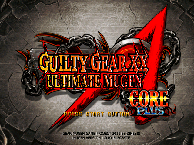 MFG: Guilty Gear XX Accent Core Plus MUGEN