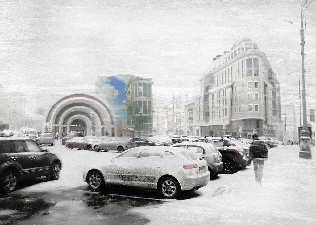 Winter at the Red Gates by kopalov