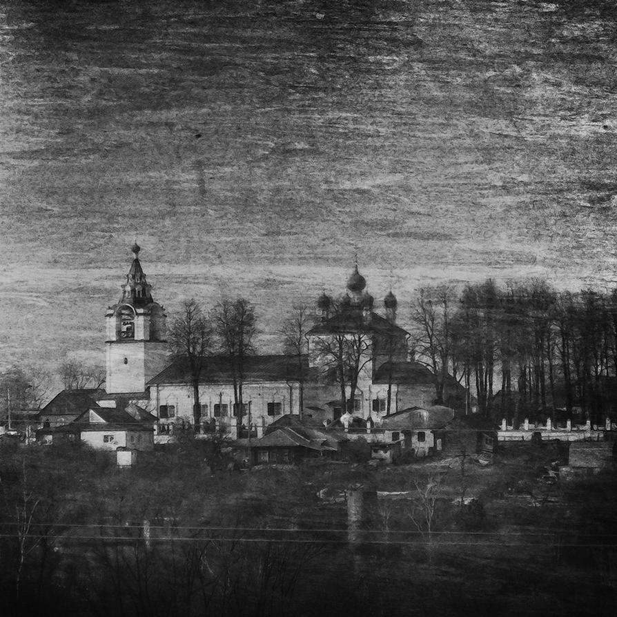 Chirch in Verkhneye Myachkovo by kopalov
