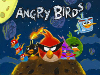 Angry Birds Space Cover by 53rdturtle