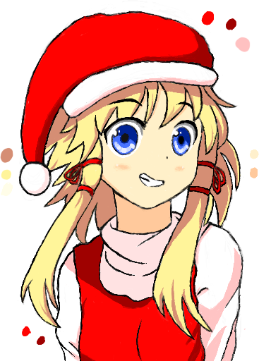 Christmas Girl by 53rdturtle