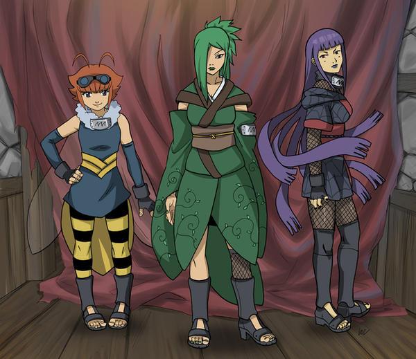 Naruto character design by lostonezero