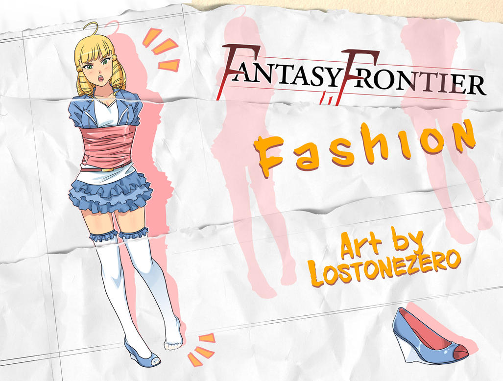 Fantasy Frontier Fashion by lostonezero