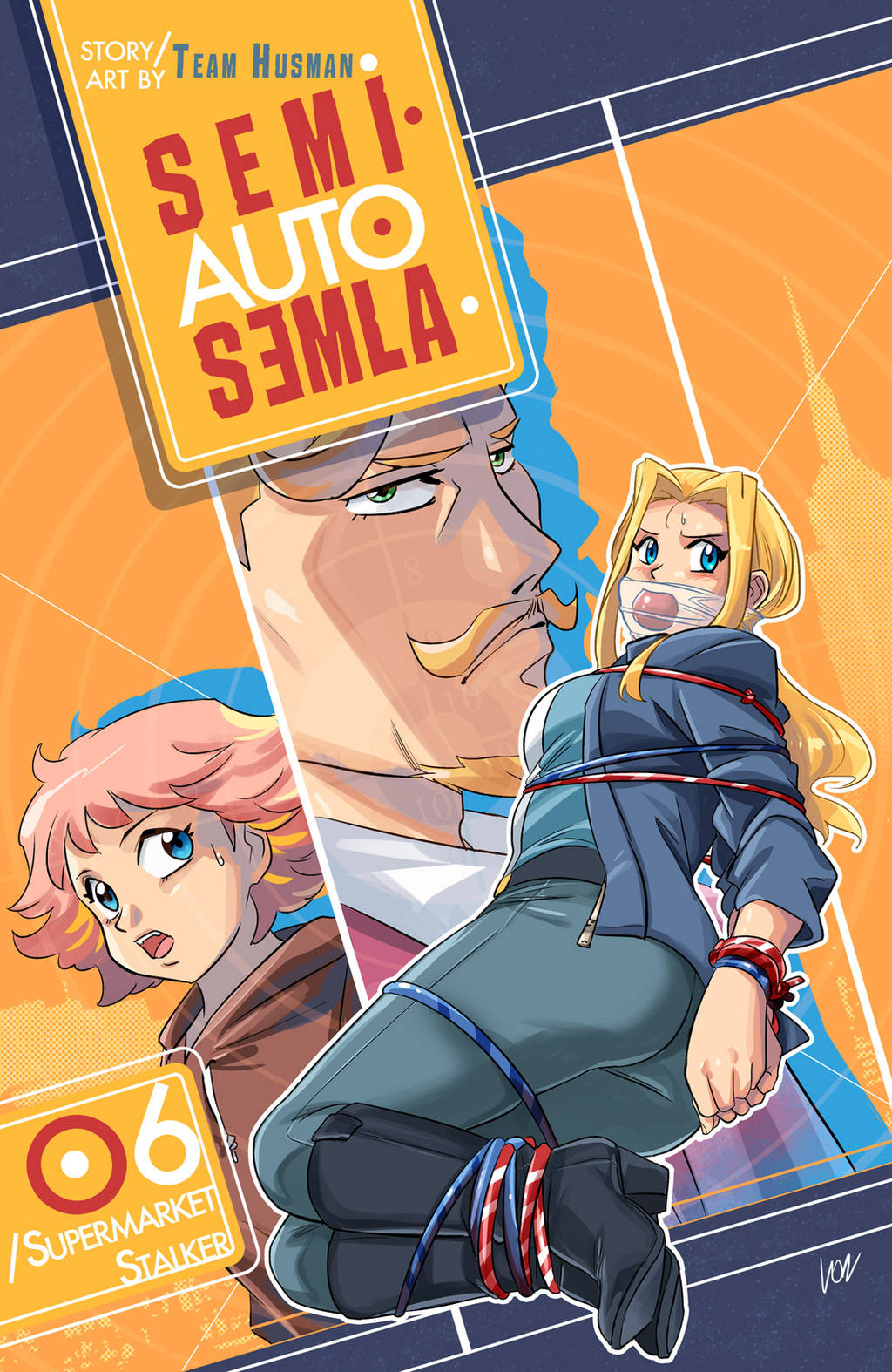 Semi-auto Semla 06 cover by lostonezero