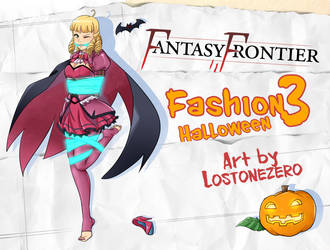 Fantasy Frontier Fashion 3 - Halloween cover by lostonezero
