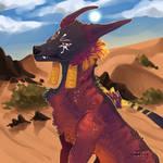 Desert king by Toukatichi