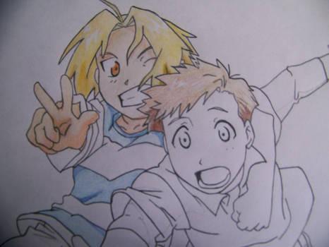 Edward and Alphonse -WIP-