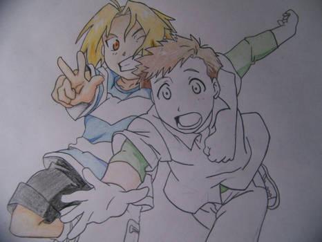 Edward and Alphonse -WIP 2-