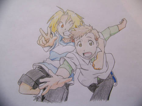 Edward and Alphonse -Children-