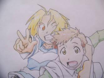 Edward and Alphonse -Kids 2-
