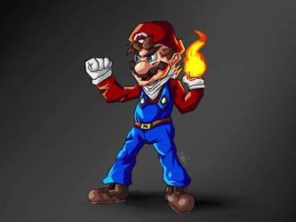 Super Mario  by Raymidius