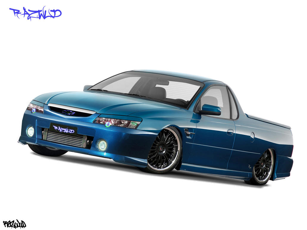 Custom Holden Vy Ss Ute By Razwud On Deviantart