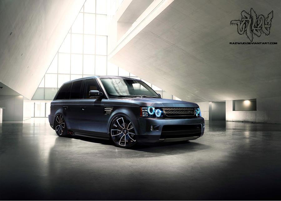 2012 Modified Range Rover Sport By Razwud On Deviantart