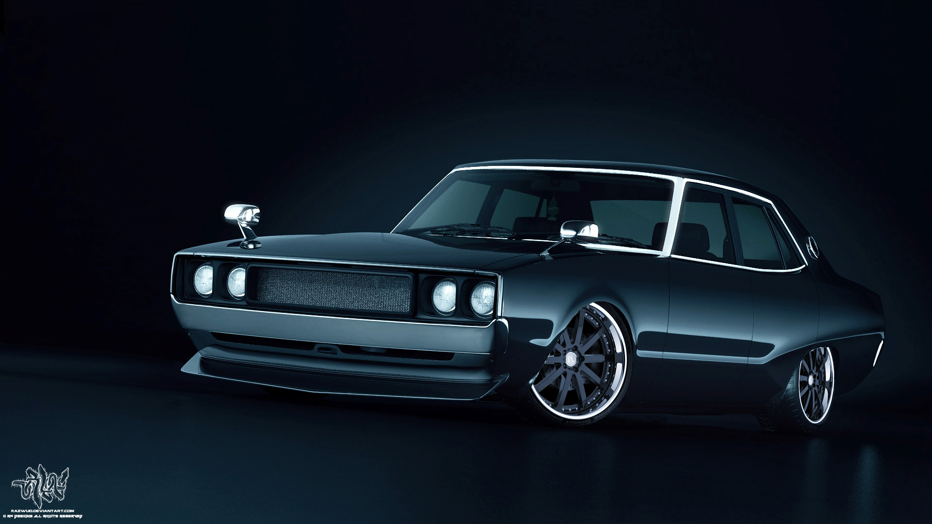 Modified Nissan Skyline C110 by Razwud