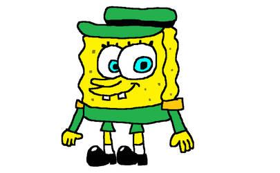 SpongeBob dressed as an admiral general by MixopolisChannel