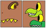 Tyranno and Rex vs Tyrannor