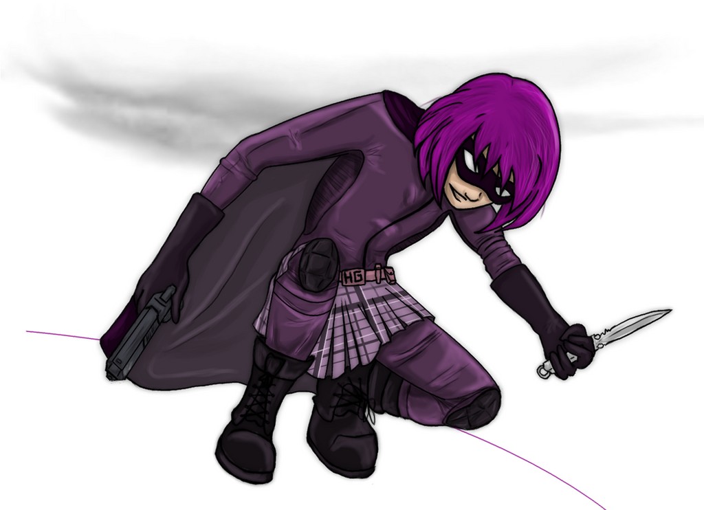 Hit Girl by vegasama